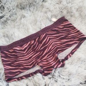 New VS - Zebra print sexy boyshorts